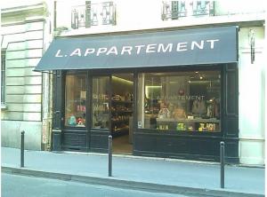 7ème arrondissement l'Appartement boutique