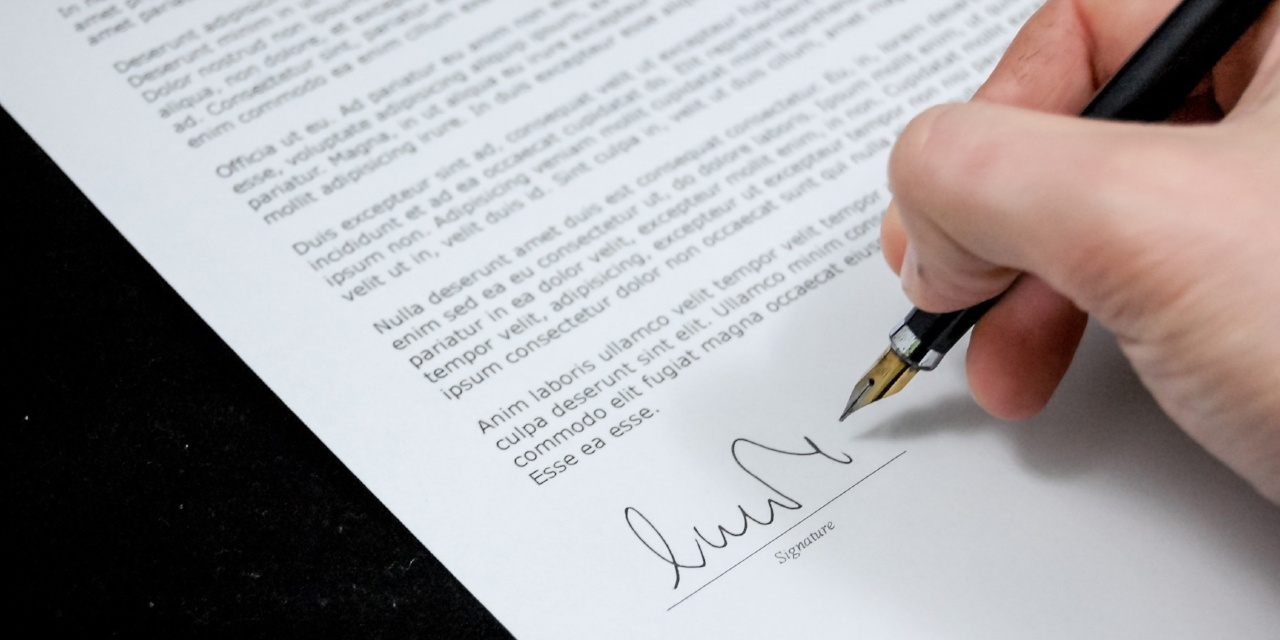 The agreement between the landlord and the tenant.