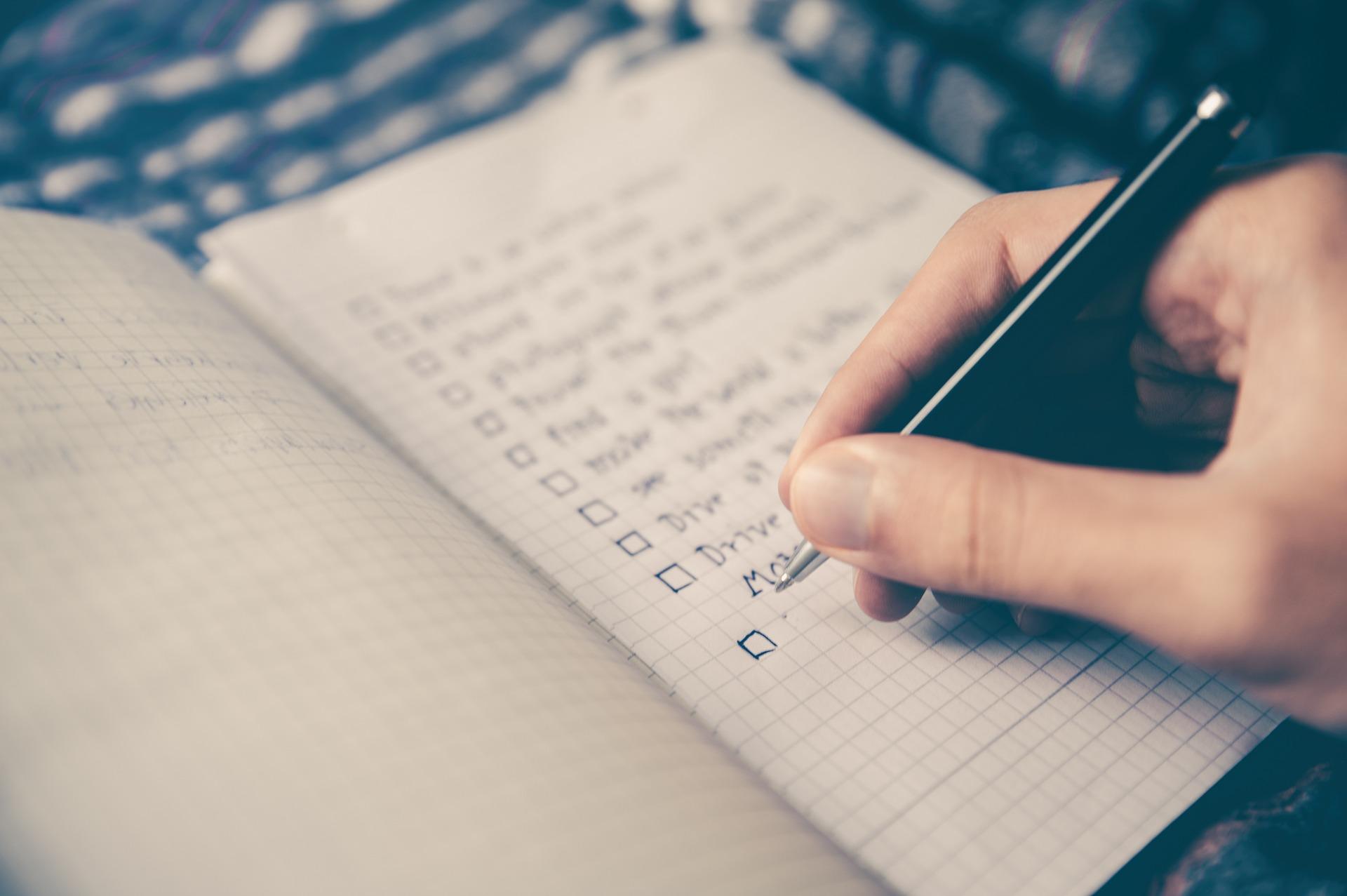 checklist des essentiels à ne pas oublier pour le déménagement