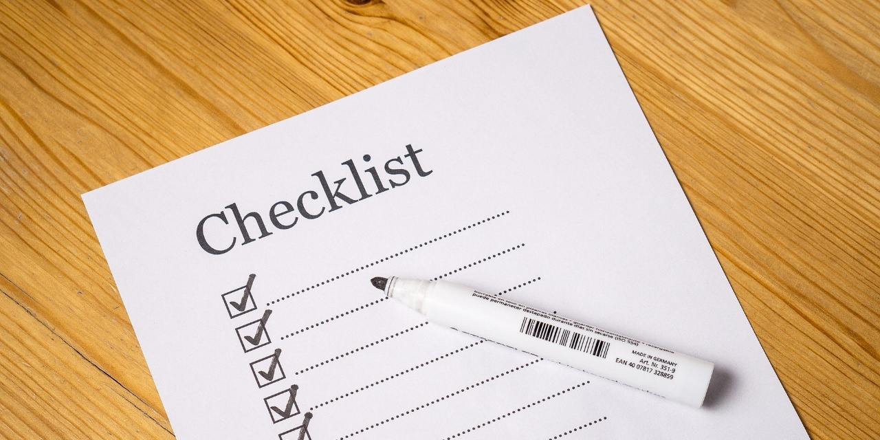 checklist to apply for house subsidies