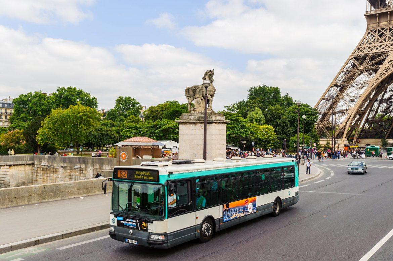 Париж картинка автобусов сказать