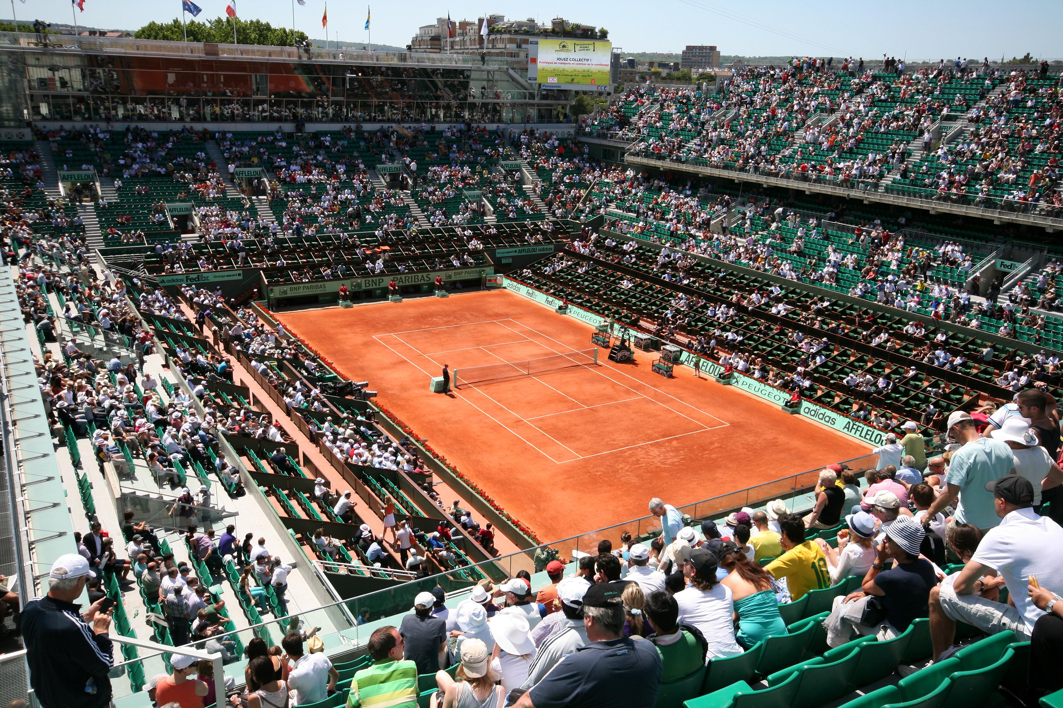 Tournoi de Roland Garros en mai